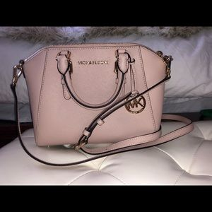 Michael Kors Savannah Leather Crossbody Bag